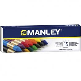 Estuche 15 Ceras Manley