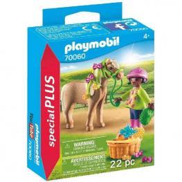 Playmobil - Niña con Poni