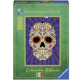 Puzzle Calavera Mejicana 1000 piezas