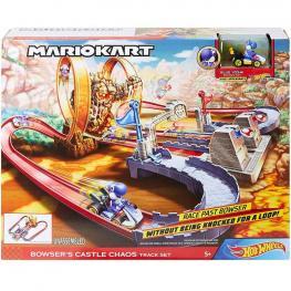 Hot Wheels Pista Mario Kart Castillo del Caos