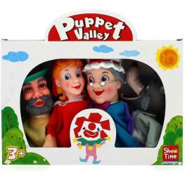 Set Marionetas Caperucita.
