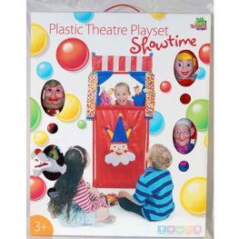 Teatro con 4 Marionetas