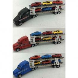 Camión Portacoches con 6 Coches