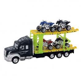 Camión Portaquads con 4 Quads