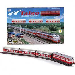 Tren Eléctrico Renfe Talgo con Luz