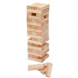 Juego Torre de Madera 57 Piezas
