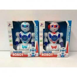 Robot Salvaobstaculos con Luz y Sonidos