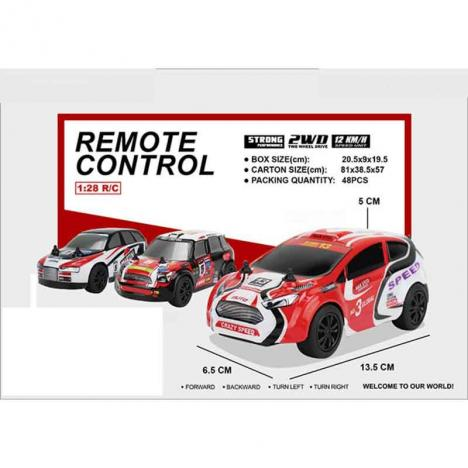 Set 2 Coches Rally Extreme Radio Control