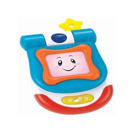 Teléfono Móvil Infantil con Espejo Luz y Sonido