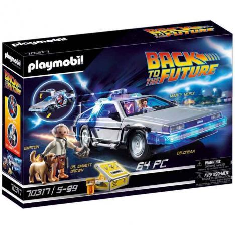 Playmobil - Regreso al Futuro Delorean