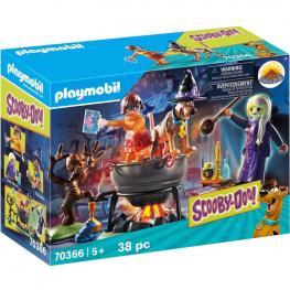 Playmobil Scooby-Doo! - Aventura en el Caldero de la Bruja