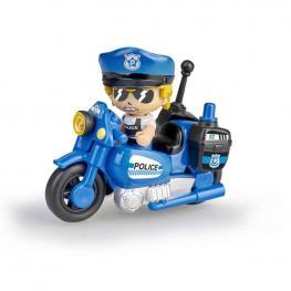 Pin y Pon Action - Moto de Policía