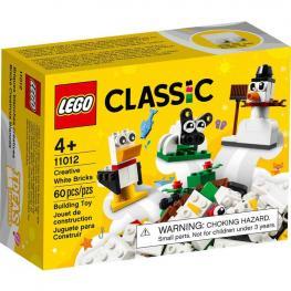 Lego Classic - Ladrillos Creativos Blancos