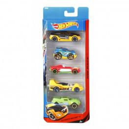 Hot Wheels Pack De 5 Vehículos.