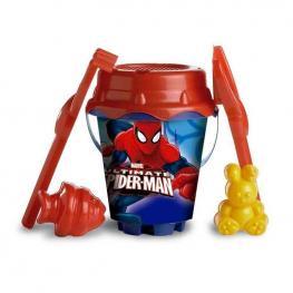Spiderman Conjunto Cubo Castillo con Moldes