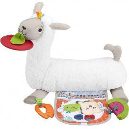 Llama Tummy Time Cojín de Actividades