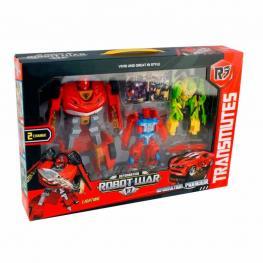 Set Robot War Transformable