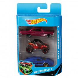Hot Wheels Pack 3 Coches.