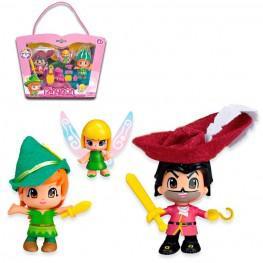 Pin Y Pon - Peter Pan, Garfio y Campanilla.