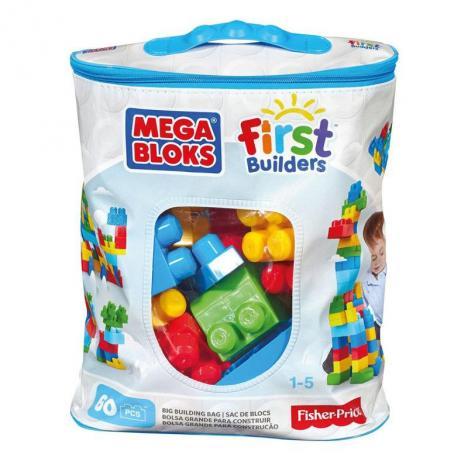 Mega Blocks Eco -  60 Clásica First Builder.