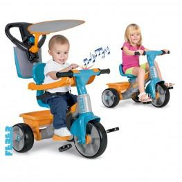 Feber Triciclo Baby Plus Music.