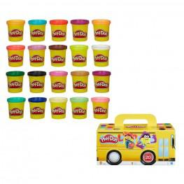 Play-Doh - PACK SUPER COLOR 20 BOTES