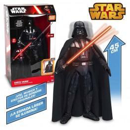 Star Wars - Figura Animatrónica  Interactiva Darth Vader Deluxe.