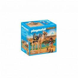 Playmobil Egipcio Con Camello.