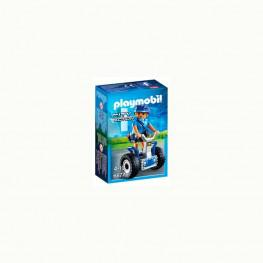 Playmobil Policia Con Balance Racer.