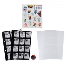 Yo-Kai Páginas Coleccionables Para Album Medallium Serie 1