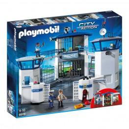 Playmobil Comisaria Policia Con Prisión.