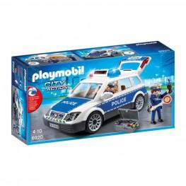 Playmobil Coche Policia Con Luces y Sonido.