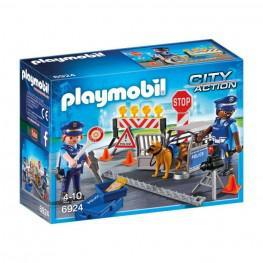 Playmobil Control De Policia.