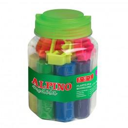 KIT PLASTILINA ALPINO