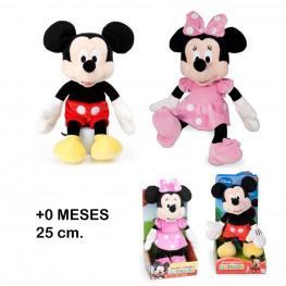 Mickey  & Minnie Club 25cm.