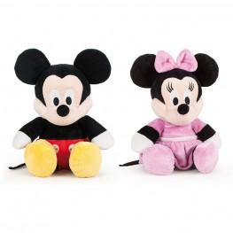Mickey & Minnie Flopsie 36cm.