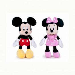 Peluche Mickey & Minnie Club House 25cm.