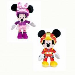 Los Super Pilotos Mickey  & Minnie 20 cm.