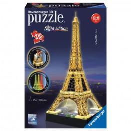 PUZZLE 3D TOUR EIFFEL CON LUZ 47 CM. 216 PIEZAS