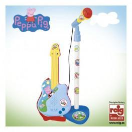 Micro Guitarra Peppa Pig.