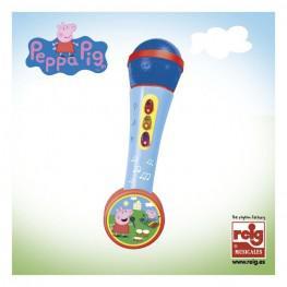 Micro de Mano con Amplificador Peppa Pig.