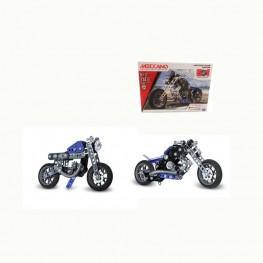 MECCANO 5 MODELOS MOTO