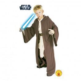 Star Wars - Disfraz Túnica Jedi Deluxe Talla S