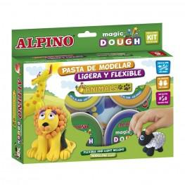 MAGIC DOUGH ANIMALS 6 X 40 GR.