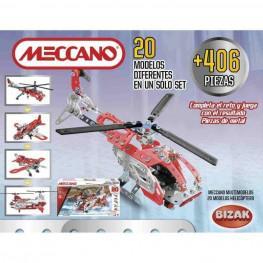 MECCANO 20 MODEL - HELICOPTERO