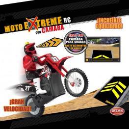 Moto Xtreme R/C Con Cámara.