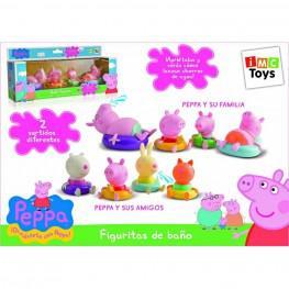 Peppa Pig figuras de baño