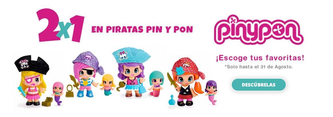 Promo 2x1 en Pin y Pon Pirata